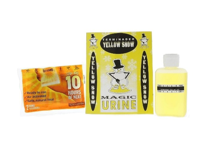 terminader yellow snow synthetic urine