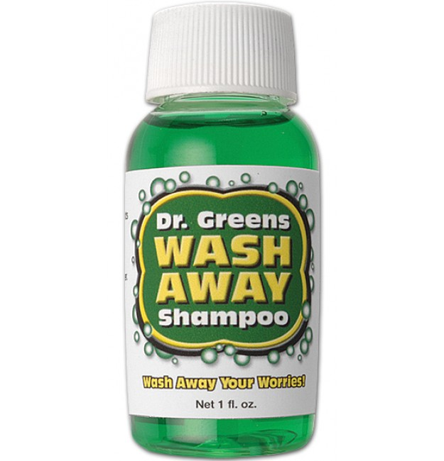 dr greens wash away shampoo