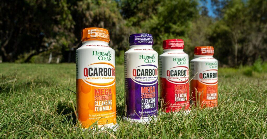 qcarbo detox drink