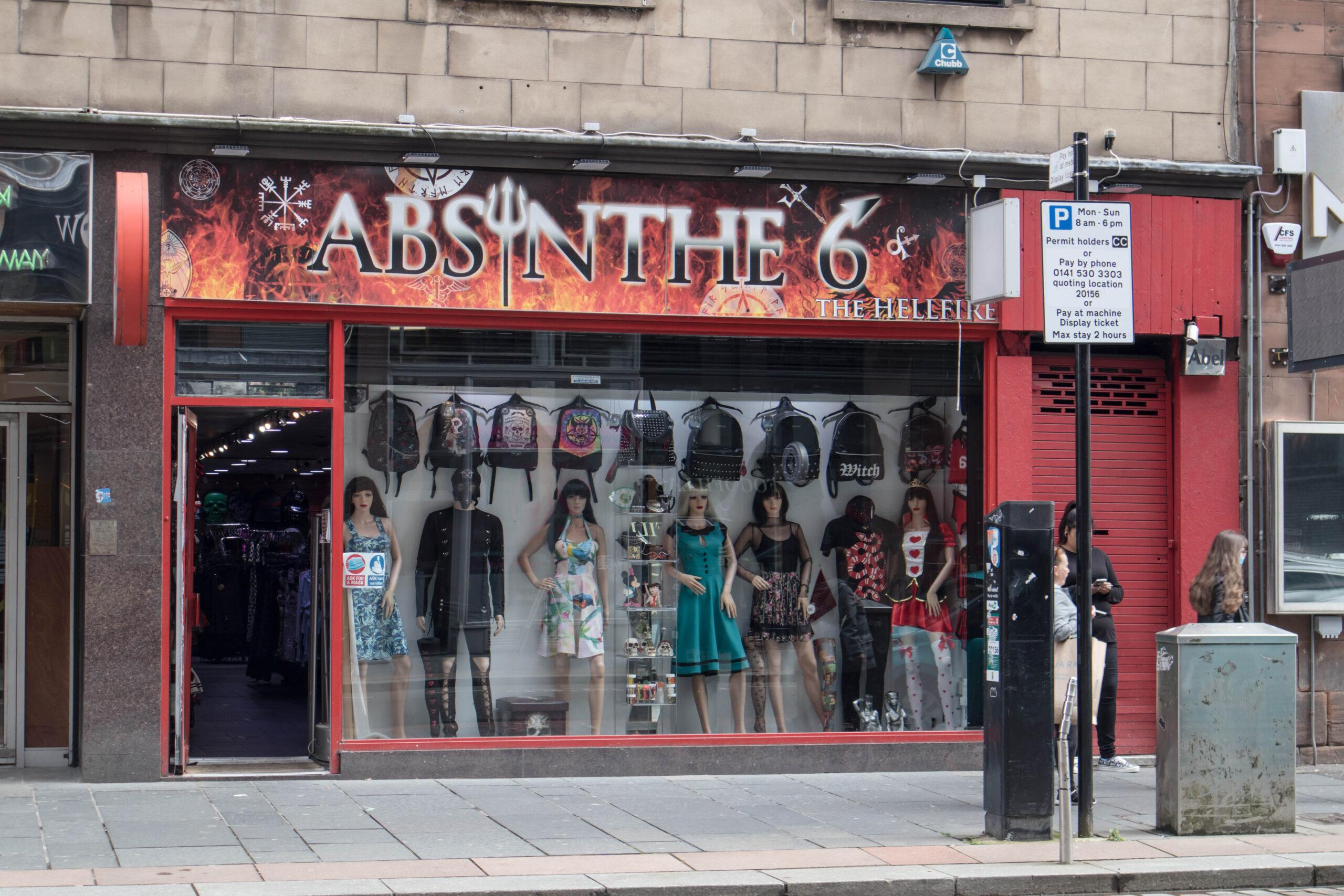 Goth shops